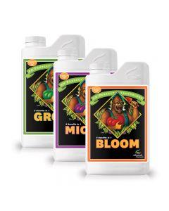 Grow-Micro-Bloom pH perfect set of 1L