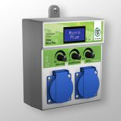 Ρυθμιστής εξαερισμού Clima Micro Plus 2x2,5A (Αρνητικής πίεσης)