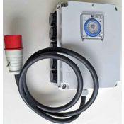 Timer Relay Switch Box 10x 1000W +heater