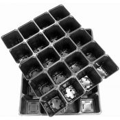 Multi-cell seedling growing trays 20 x 0.25L