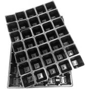 Multi-cell seedling growing trays 35 x 0.1L