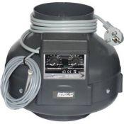PK125-TC Radial Ventilator Temp/Speed Control max 400 m3/h