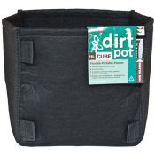 PLANT!T Square Base Dirt Pot without handles, 11L (3 Gallons)