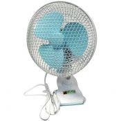 Clip fan, περιστρεφόμενος, 2 ταχυτήτων - 18cm