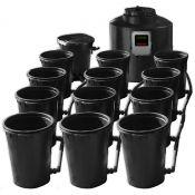 Hydroplus Ebb and Flow Basic Kit, 12 pots