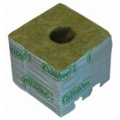 Rockwool blocks 75X75mm (small hole)