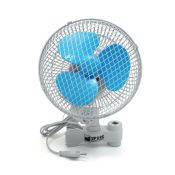 Rotating Fan with clip for poles 18cm